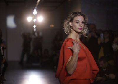 Défilé Skill and You 2018 - styliste : Elena Ventrillon - modèle Cécile Geiser Dubois