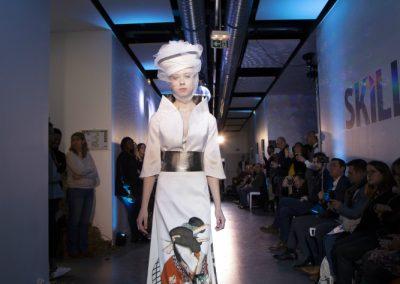 Défilé Skill and You 2018 - styliste : Noémie Requier - modèle Lejla Hromic