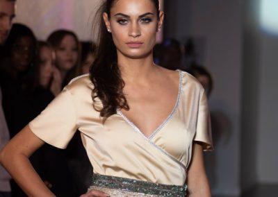 Défilé Skill and You 2018 - styliste : Souad Gargari - modèle Cassandra Desoussa