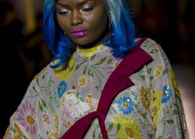 Défilé Skill and You 2018 - styliste : Joanna Jedrys - modèle Christelle Ryan