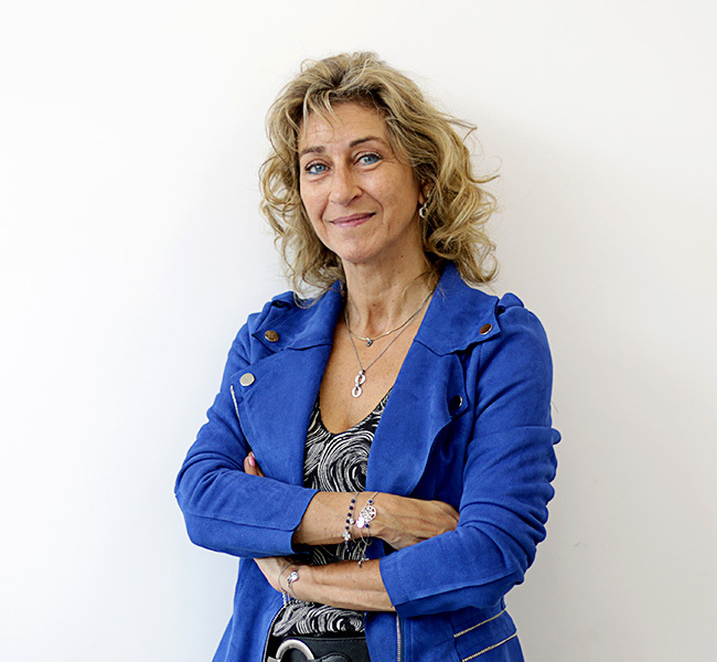 photo prof - Sylvie Hervillard